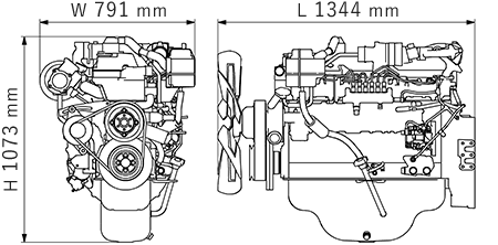 engine model: 6hk1x